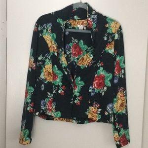 Xhilaration | Floral Blazer | XL